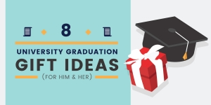 8 Unique University Graduation Gift Ideas (For Him & Her)