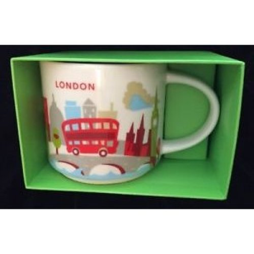 Starbucks You Are Here Collection Mug London