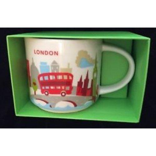 Starbucks You Are Here Collection Mug London