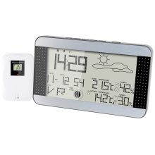 Alecto Wireless Weather Station WS-1700 Silver