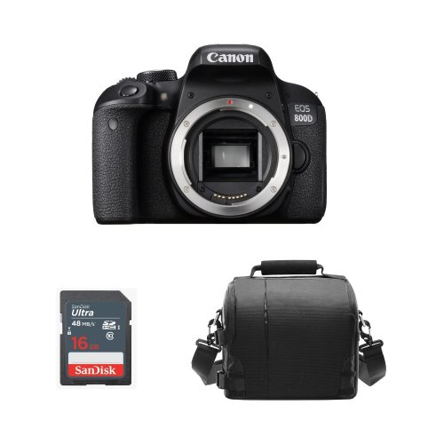 CANON EOS 800D Body +  Bag+ SanDisk 16gb SD card