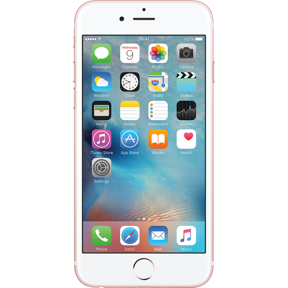 Virgin, 32GB Apple iPhone 6s Rose Gold