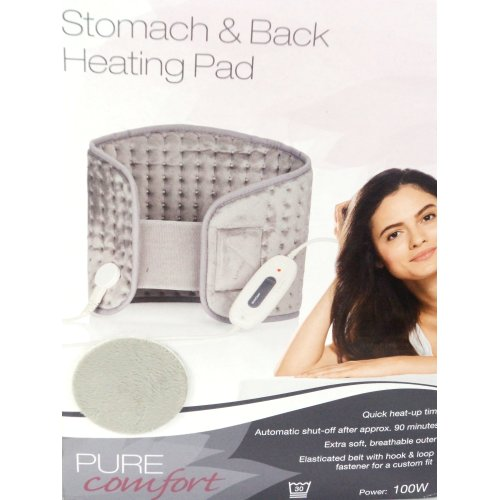 BACK & STOMACH RAPID WARM UP PAIN RELIEF HEAT PAD,6 HEAT SETTINGS