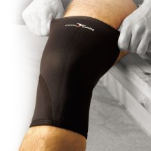 Large Neoprene Knee Support - Precision Training Trs104 New Blackred -  precision training neoprene knee support trs104 new blackred large