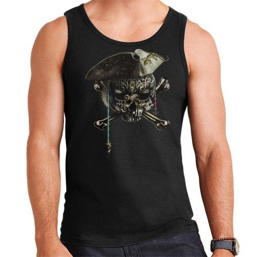 The Black Skull Men's Vest
