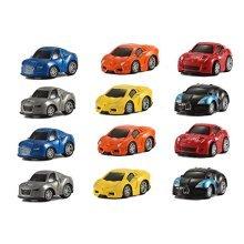 12 Assorted Pullback Diecast Metal Race Cars Set (1 Dozen)