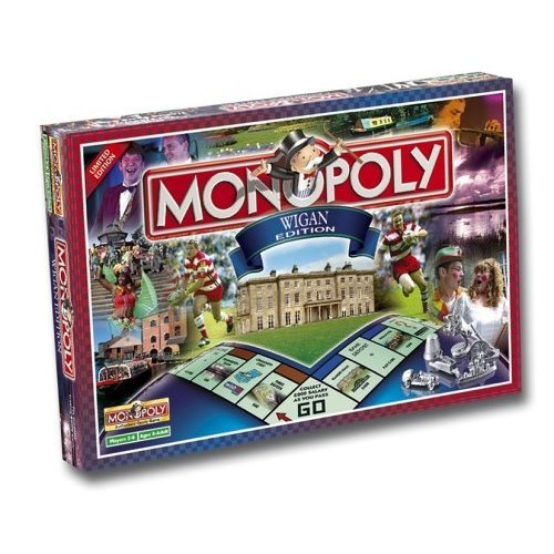 Wigan Monopoly Board Game