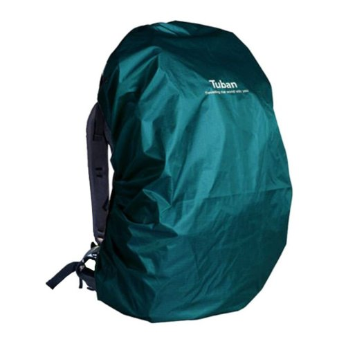 Outdoor Riding Backpack Rain Cover Waterproof Backpack Cover-55 L Blue