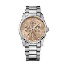 Hugo Boss 1513128 Men's Silver Stainless Steel Band Bronze Dial Watch