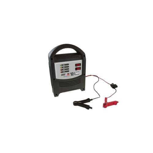 Battery Charger 12A - 12V/24V - LED Automatic