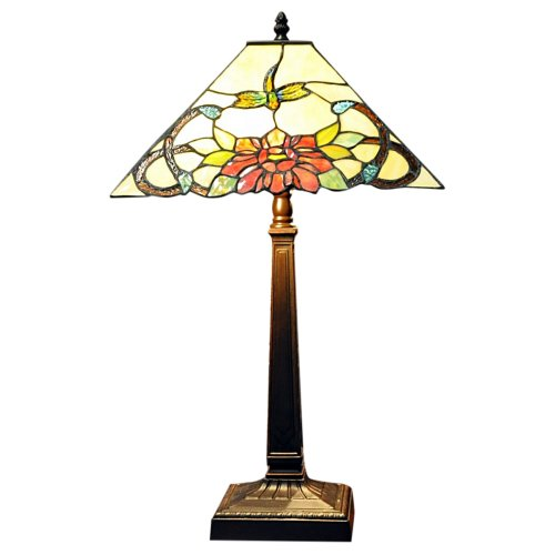 Square Shade Tiffany Lamp 14