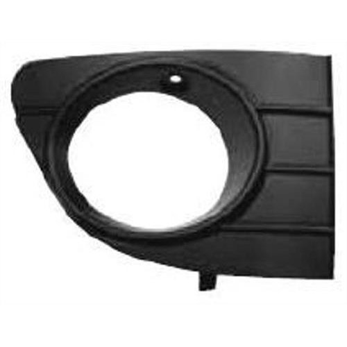 Fiat Punto Evo 3 Door Hatchback  2010-2012 Front Bumper Grille Outer Section With Lamp Hole - Not Primed Driver Side R