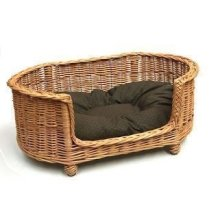 Luxury Oval Dog Pet Settee Large