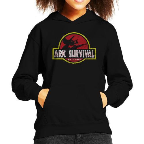 Ark Survival Evolved Jurasic Park Kid's Hooded Sweatshirt