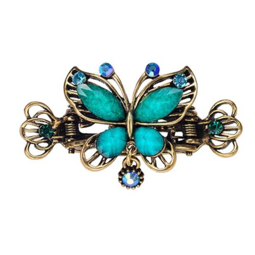 Chinese Design Hair Claws/Clips Vintage Hair Barrettes, Butterfly Clips, F