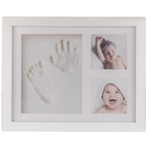 Baby Clay Casting Kit & 2-Photo Frame