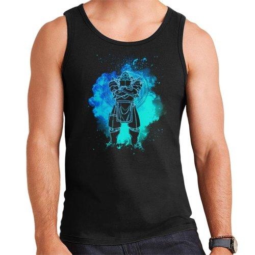 Soul Of The Armor Alphonse Elric Fullmetal Alchemist Men's Vest