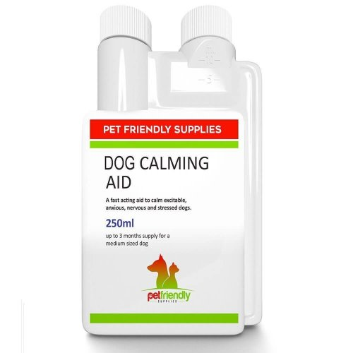 Premium Calming Aid for Dogs Liquid Product, Best Pet Calmer Supplement for Reducing Stress, Aggression, Calm Tension and Separation Anxiety in...