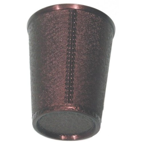 Kent & Cleal Black Plastic Dice Cup   Dice Shaker