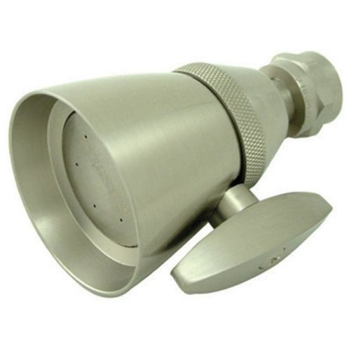 Kingston Brass K132A8 2-.25 Inch Diameter Brass Shower Head - Satin Nickel