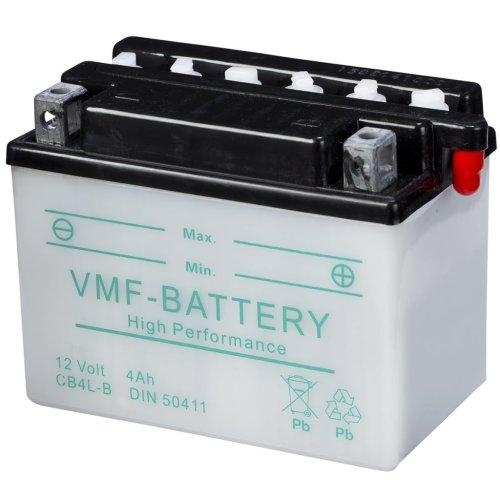 VMF Powersport Battery 12 V 4 Ah CB4L-B Long-lasting Workhorse Motorcycle