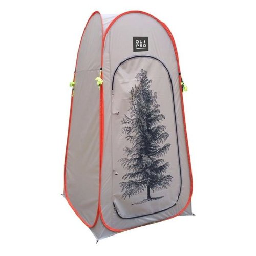 OLPRO Pop Up Tree Print Toilet Tent