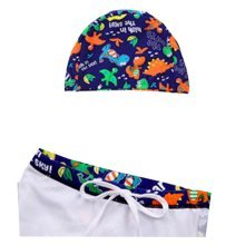 Children's Swimming Trunks Boy Swimming Trunks Swimming Cap Cute Swimwear