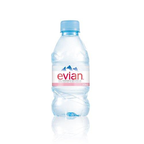 Evian Spring Water 24 X 330ml (plastic Bottle)