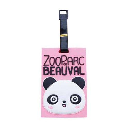 2 Pcs Creative Panda Baggage Labels Cute Handbag Tags Claim Tags Baggage Stubs