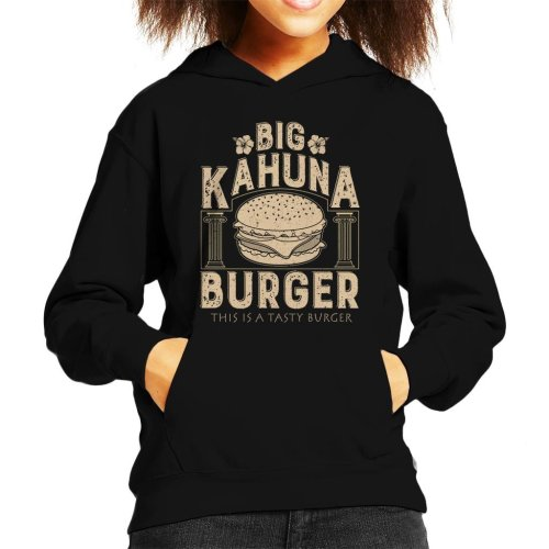Pulp Fiction Inspired Big Kahuna Burger Kid's Hooded Sweatshirt