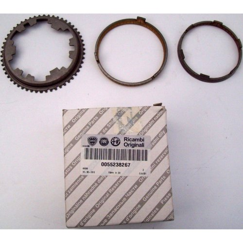 Alfa Romeo Giulietta Genuine New Synchronizer Rings & Sleeves 55238267