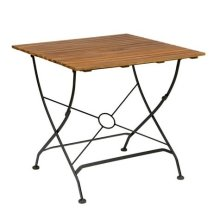 Elizabeth Accacia Folding Courtyard Outdoor Garden Table