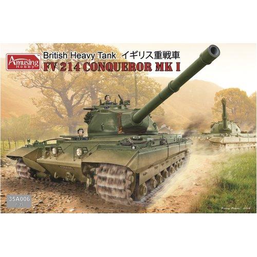 1:35 British Heavy Tank FV214 Conqueror Mk I Military Model Kit