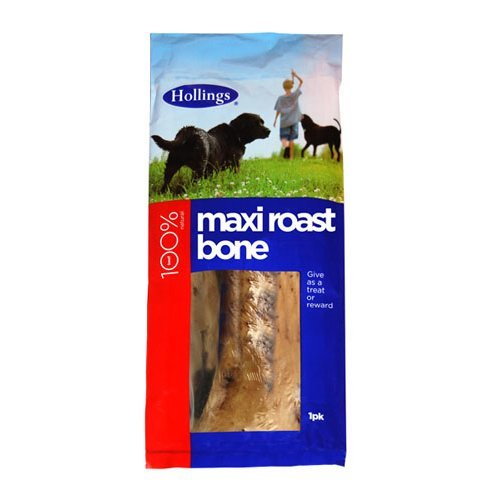 Hollings  Maxi Roast Bone For Dogs Single x 10