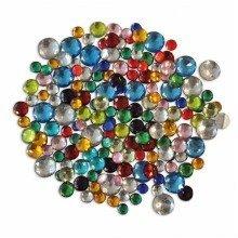 Pbx2470726 - Playbox - Plastic Crystal Stones - 1000 Pcs