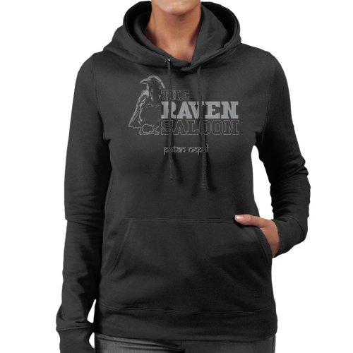 The Raven Saloon Nepal Indiana Jones Women's Hooded Sweatshirt