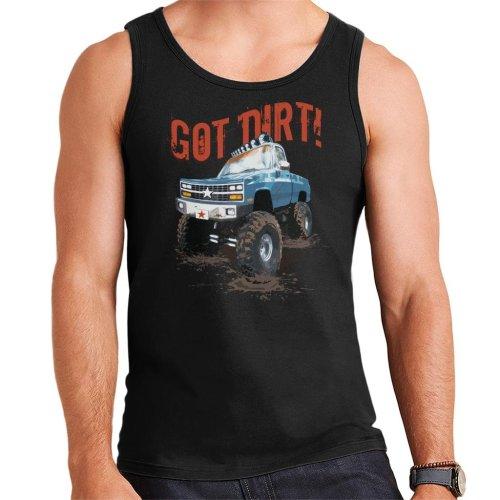 Monster Truck Got Dirt Men's Vest