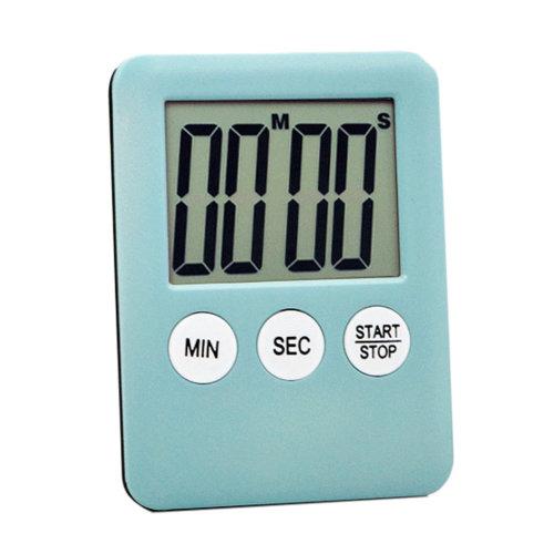 Functional Electronic Digital Timer Kitchen Timer, Sky Blue