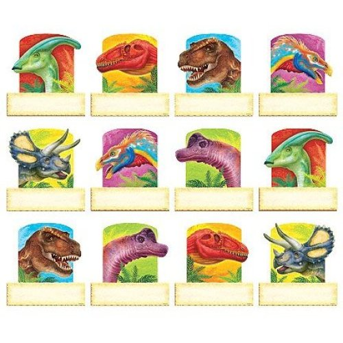Trend Enterprises Discovering Dinosaurs Classic Variety Accents, Set of 36