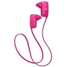 JVC Gumy Sports Bluetooth In Ear Headphone IPX2 rating - Pink (HAF250BTPE)