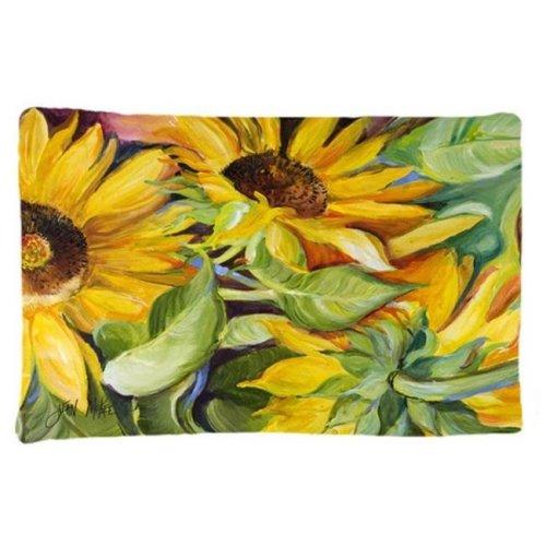Carolines Treasures JMK1122PILLOWCASE Sunflowers Fabric Standard Pillowcase