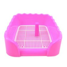 Dog Toilet Pink Puppy Dog Pet Potty Patch Training Pad Pet Supplies 43 X 43 CM