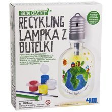 Great Gizmos Green Creativity Recycled Bottle Light by 4M