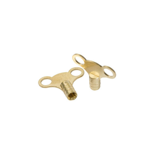 Dickied Brass Clock-type Radiator Bleed Keys 10pk - 11.042 - Dickie Dyer Brass -  dickie dyer brass clocktype radiator bleed keys 10pk 11042 409146