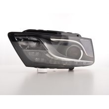 Daylight headlight Audi Q5 Year 08.12 black