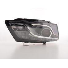 Daylight headlight Audi Q5 Year 08.12 black