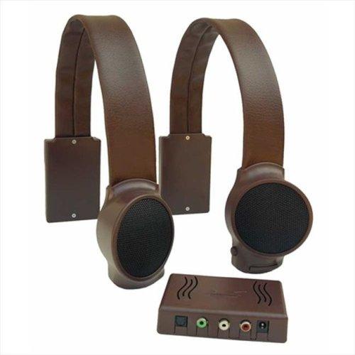 Audio Fox AF 0001 Brown TV Listening Speaker System
