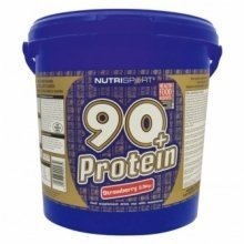 Nutrisport - 90+ Protein - Strawberry - 5Kg