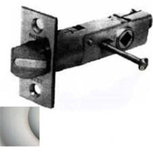 Baldwin 5523150PFLS Privacy Latch X Full Lip Strike, Satin Nickel