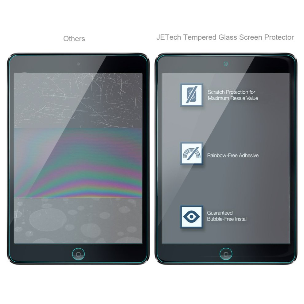 ... JETech Premium Tempered Glass Screen Protector Film for Apple iPad Mini 1/2/3. >
